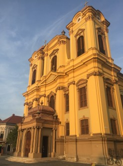 catolic dome in timisoara