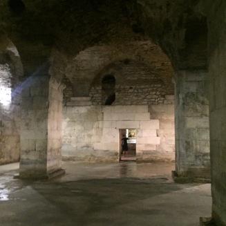 inside diocletian palace split 1