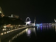 marina bay singapore by night