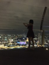 night girl in singapore
