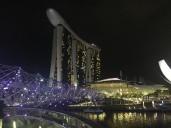 sands hotel singapore night